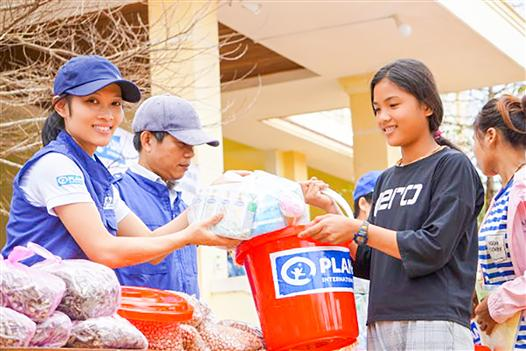Plan International has supported Quang Tri people with more than 13 billion VND to stabilize their life after natural disasters